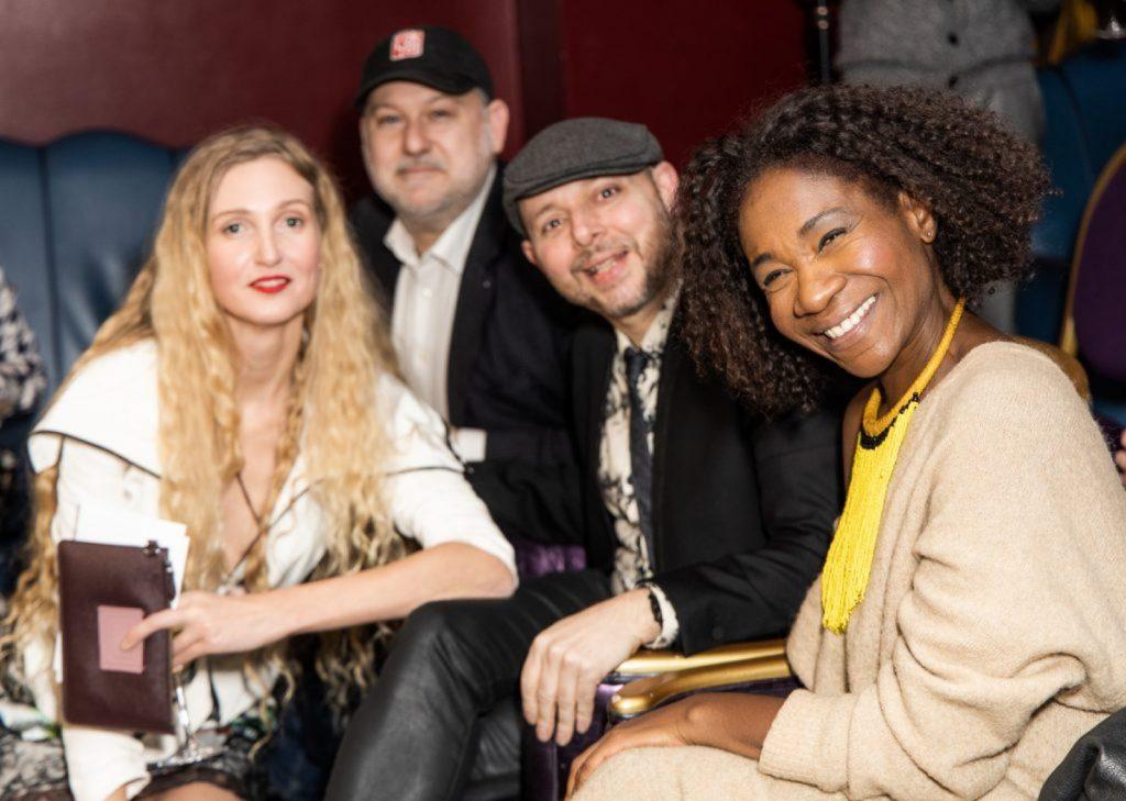 Tamara Orlova Alvarez with DAFTAS judges Adam Ziff, Tom Lawes, Karen Bryson
