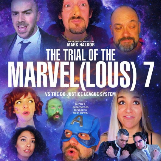 The trial of the Marvel(ous) 7 DAFTAS Comedy Awards poster