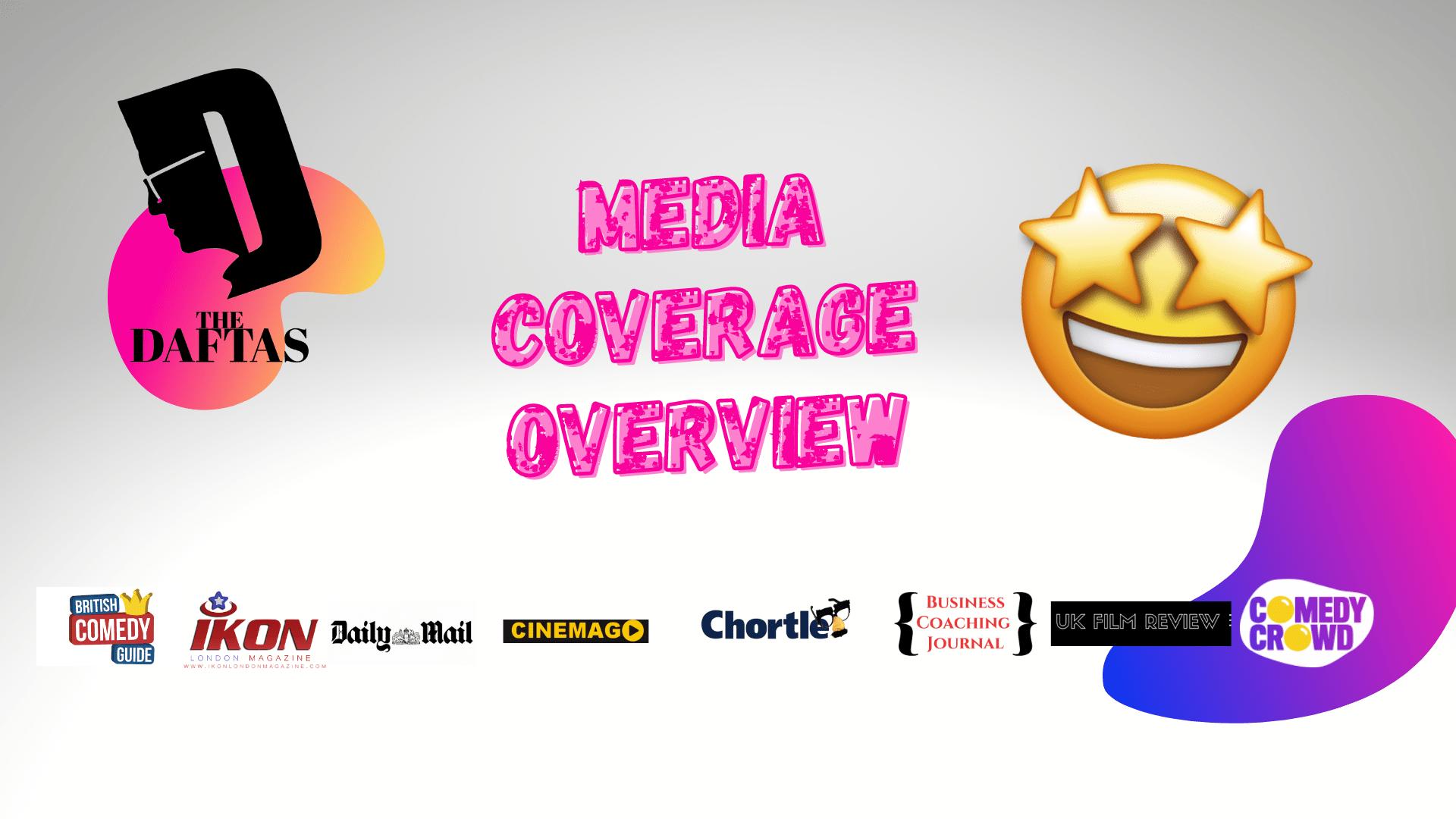 The DAFTAS Comedy Media coverage